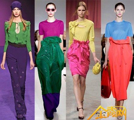 类似色服装搭配_掌握服装色彩搭配法,可以在整个冬天穿出时髦感